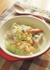 野菜たっぷり鶏の親子煮 クリーム仕立て