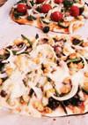 ヨシダソースで照り焼きピザ