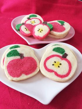 ホワイトデー♡可愛い♪林檎のクッキー♡