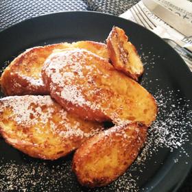 フランスパンde濃厚フレンチトースト♪