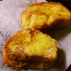 バゲット・ブリエで作るフレンチトースト