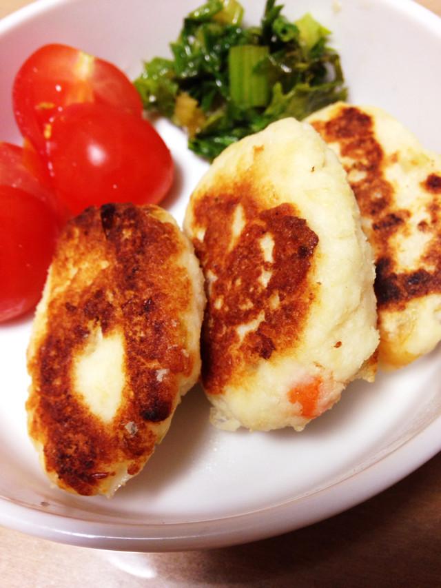 おからと鶏挽肉で柔らかーいハンバーグ