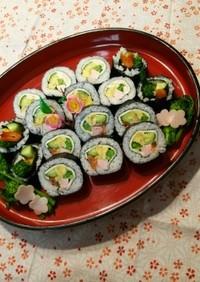 春の行楽☆ひな祭り!菜の花・太巻き寿司♪