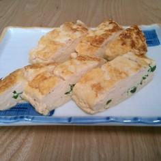 ボリューミー卵焼き豆腐