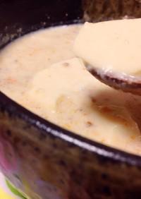 超簡単☆レンジでできるごま豆乳スンドゥブ