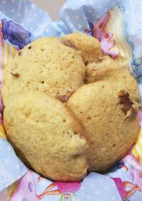 HMでクルミとレモンのクッキー♡