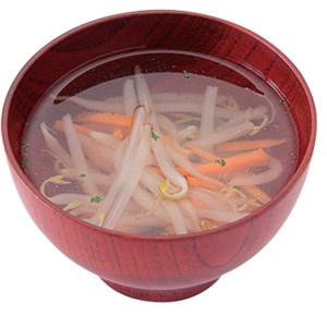 もやしとにんじんのスープ