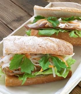 ベトナム料理☀バインミー風サンドイッチ