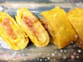 朝食お弁当のおかずに♡たらこチーズ卵焼き