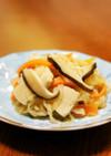 簡単☆干し椎茸と高野豆腐で切り干し大根煮