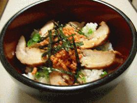 鮭の白子丼