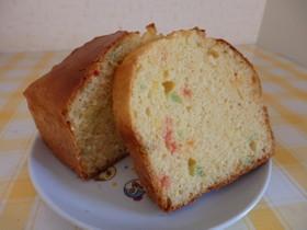 春色のバウンドケーキ