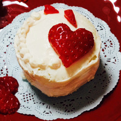 離乳食 中期〜食パンでケーキ〜