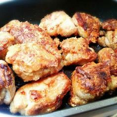 スペースパンで☆鶏の唐揚げ