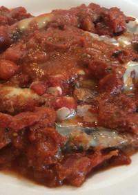 イタリアン風♡イワシのあっさりトマト煮