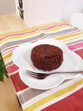 レンジで☆おからショコラケーキ!糖質制限