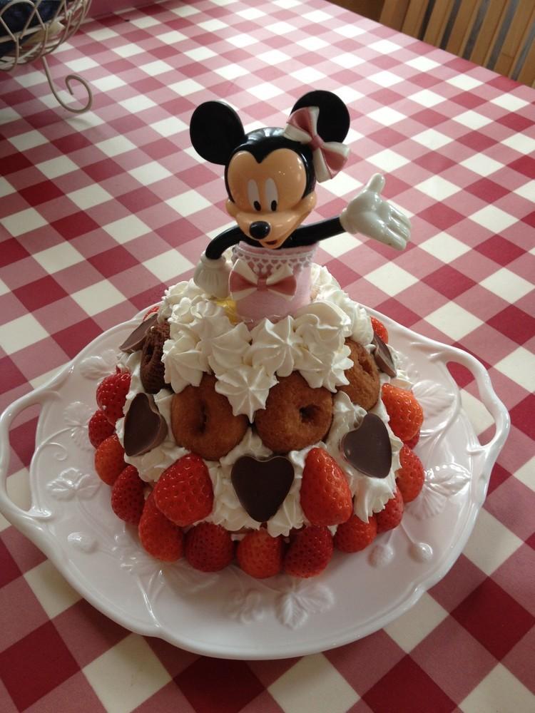 ひな祭り♥簡単ドールケーキ