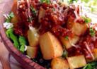 厚揚げ&ジャガイモのタコス風サラダ