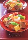 桃の節句❀ちらし寿司
