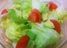 レタスのペッパーチーズサラダ