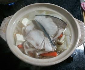 ブリの水炊き一人鍋 はりはり鍋風