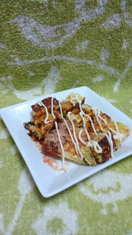 【野菜限界挑戦】キャベツの卵焼き