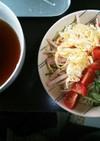 マルちゃん正麺冷やし中華 つけ麺風