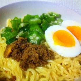 マルちゃん正麺 冷し中華/肉味噌アレンジ