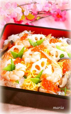 ✿基本のちらし寿司✿