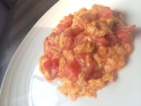とろとろトマトと卵の炒め【番茄炒蛋】
