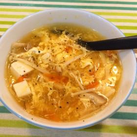 酸辣湯スープ*サンラータン