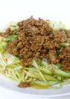 マルちゃん正麺で作るジャージャー麺