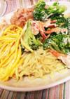 マルちゃん正麺 冷やし中華 夏ランチ