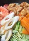 「マルちゃん正麺 冷し中華」&ゆず胡椒