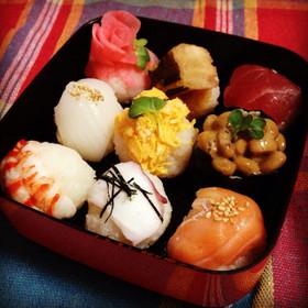 ひな祭りに♡簡単すぎる手まり寿司