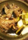 マグロの目玉と焼きネギの煮付け
