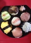 ちょっと大人なひな祭りに手毬寿司♡