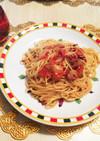 トマトの激辛ペペロンチーノ