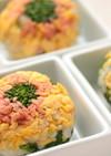 菜の花の手まり寿司