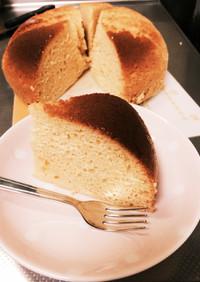 オレンジジュースとHMで簡単蒸しケーキ