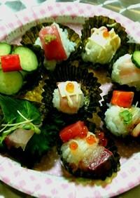 簡単❗ひな祭りは作って食べる♥手まり寿司