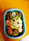 妖怪オムソバ飯弁当♡