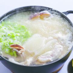 大根の塩豚鍋