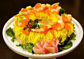ひな祭り ちらし寿司 ケーキ寿司