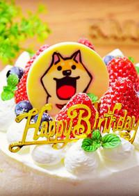 ひなまつり♡誕生日 いちごケーキ 簡単♡