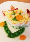 離乳食☆ひな祭りのちらし寿司