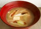 焼き葱と豆腐のコク旨お味噌汁*