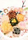 1歳の手まり寿司(離乳食完了期)ご飯g付