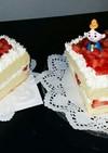 簡単 ひな祭り ショートケーキ