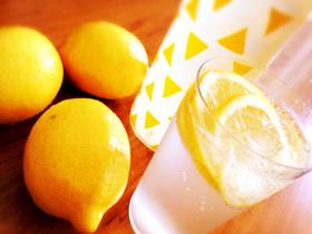 レモン爽快☆デトックスソーダ水